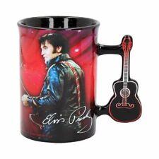 More details for nemesis now elvis presley '68 mug 16oz authentic licensed gift rock & roll 13cm