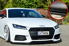 Frontspoiler mit Wing aus ABS für Audi TT TTS 8S S-Line mit ABE in Schwarz Glanz