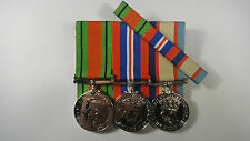 Set of 3 World War 2 WWII Defence medals, Australian Service Medal 1939-45