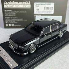 1/43 IG Model Ignition Toyota Century UWG60 Black IG1728