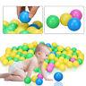 100Pcs Soft Plastic Ocean Balls Baby Kid Children Toy Swim Pool Sand Pit Game BT