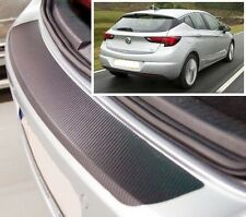 Vauxhall/Opel Astra K Hatchback - Carbon Style rear Bumper Protector
