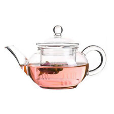 Glass Teapot Heat Resistant for Chinese Tea with Filter 250ml/8.8oz