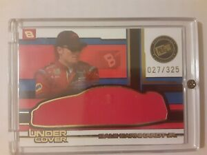 Dale Earnhardt Jr 2004 PP Eclipse Under Cover Drivers SP/325 Race Used Car Cover