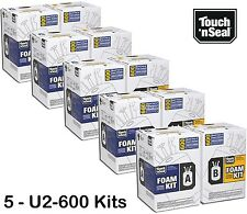 Touch N Seal U2 600 Spray Foam Insulation Kit Closed Cell3000 Bf Qty Of 5 Kits