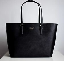 MICHAEL KORS Damen Tasche JET SET TRAVEL LG CARRYALL TOTE Saffiano Leder black