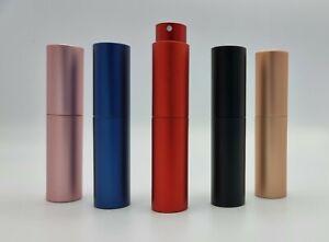Perfume Atomiser Bottle Atomizer 10ml twist Travel Refillable Spray Fragrance