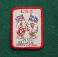 Eureka Rebellion, Ballarat Patch/Cloth Badge - Vintage Souvenir - Australia