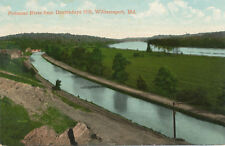 Williamsport MD * Potomac River and C&O Canal 1908 * near. Hagerstown