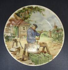 Royal Schwabap Collectors Plate: Dutch Clock Maker