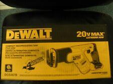 DEWALT DCS387B 20V 20 Volt Max Lithium Compact Reciprocating Saw NEW IN BOX