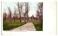 Early 1900s Wabash College, Crawfordsville, IN Postcard *5F16