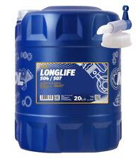 20 L Mannol Longlife 5W-30 Motoröl VW 504 00 507 00 BMW LL-04 229.51 +Hahn 5W30
