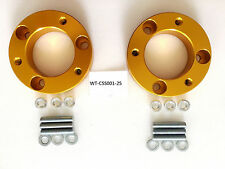 WAY2TUFF FRONT COIL STRUT SPACERS for NISSAN NAVARA D40 D23 25mm GIVES 37mm LIFT