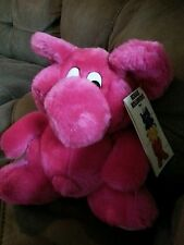"KODAK KOLORKINS RARE Pink Rewind 9"" Plush Stuffed Animal J1 new with tag vintage"