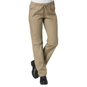 Maevn Scrub RED PANDA Women's Full Elastic Cargo Straight Leg Pant 9726