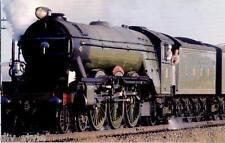LNER The Flying Scotsman steam locomotive railroad postcard