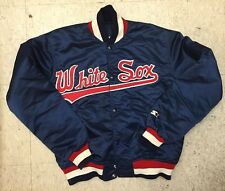 Vintage Worn Men's Diamond Collection Starter Chicago White Sox Jacket Med USA