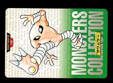 POKEMON BANDAI 1996 GREEN MONSTERS COLLECTION N°  106 HITMONLEE KICKLEE