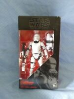 HASBRO STAR WARS THE BLACK SERIES #16 FIRST ORDER  FLAMETROOPER FIGURE SEALED