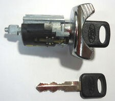 IGNITION SWITCH KEY LOCK SWITCH CYLINDER WITH 2 FORD OEM OVAL LOGO KEYS