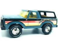 Nylint Steel Blue Ford Bronco Inspired Vintage Nylint Racing Team Metal Truck