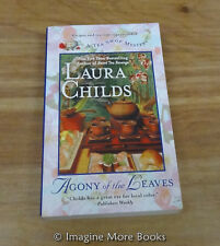 Agony of the Leaves by Laura Childs ~ Tea Shop Mysteries: Book 13 ~ PB