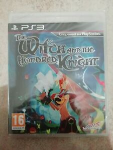 jeu PS3 The Witch and the Hundred Knight NEUF SOUS CELLO