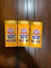 Arm & Hammer Essentials Deodorant Fresh 2.5 oz (Pack of 3) Fast Ship