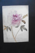 FRENCH SCHOOL 19thC - FINE STUDY OF A FLOWER - WATERCOLOR