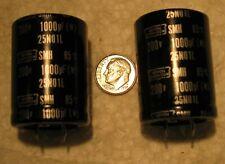 1000uF 200V Nippon Chemi-Con SMH 85°C Electrolytic Capacitors 2 pcs