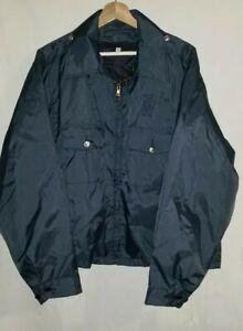 Vintage Horace Small Police Sheriff Uniform Jacket Dark Navy Blue Mens XL