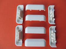 10 Design  Wasserschlitzkappen für Alu und PVC Fenster und Türen Weiß ABVERKAUF