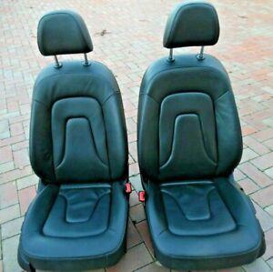 Audi A4 B8 8K Sedan Front Seats Black
