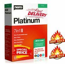 Nero Platinum 2020 Suite ✅ Lifetime License ✅ Official Version ✅ INSTANT DLV ✅