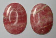 18x25mm Natural Rhodochrosite Calibrated Oval Cabochon Cab Gems Gemstones