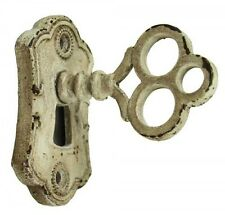 Furniture Door Knob With Keyhole  French Country Shabby Chic Wall Hook