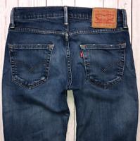 Mens LEVI Strauss 511 Jeans W29 L30 Blue Stretch Slim Fit 🇺🇸