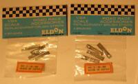 4 Pairs Eldon 1/24 Replacement Brushes Brush Strips Braid #3065 MIP 2 Packs 1/32