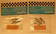 4 Pairs Eldon 1/24 Replacement Brushes Brush Strips Braid #3065 MIP 2 Packs