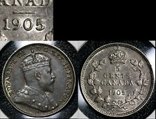 NICE VARIETIES - 5 cents - 1905 Repunched 5/5 - EF+ (c480)