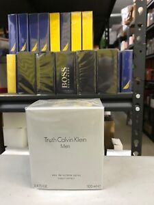 TRUTH by Calvin Klein for Men Cologne 3.4 oz EDT New in Box