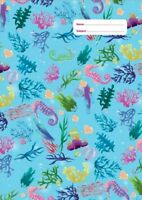 NEW Spencil Magical Mermaid III Under the Sea Coral Design A4 School Book Cover