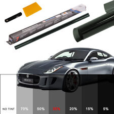 35% PRO LIGHT SMOKE BLACK CAR WINDOW TINT ROLL FILM TINTING BUS 6M x 76CM UK TOP