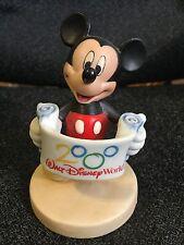 Disney Mickey Mouse Mini 2000 Walt Disney World Ceramic Porcelian Figurine