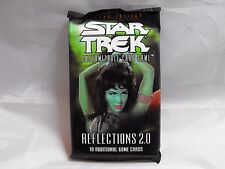 Star Trek CCG Reflections Booster Pack of 18 Cards