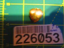 14k gold filled 1/20 Vintage I Love You Heart Locket Charm