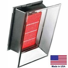 Propane Infrared Heater - 50,000 BTU - 120 Volts - 1 Stage - Direct Spark - CSA