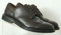 J. Crew Preston Ludlow 55740 Dark Brown Wingtip Dress Oxfords Men's US 11