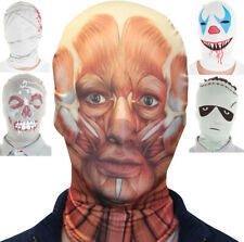 Licencia, Morphsuits Máscara Capucha Zombie Payaso Frankenstein Momia Músculo